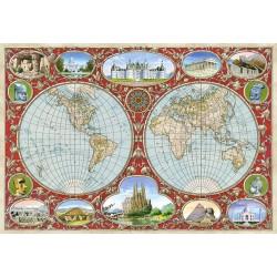 Mapa světa z roku 1607