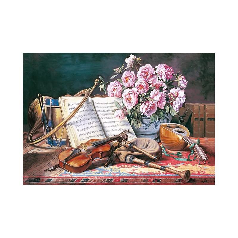 """Kopie """" A Musicat Still Life"""" Ch.A.J. Loyeux"""